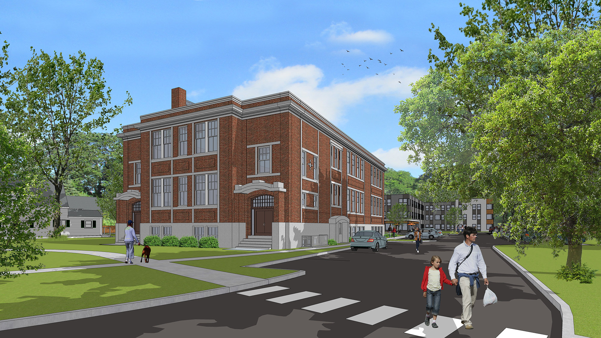 Bridgewater's McElwain School Will Get New Lease On Life